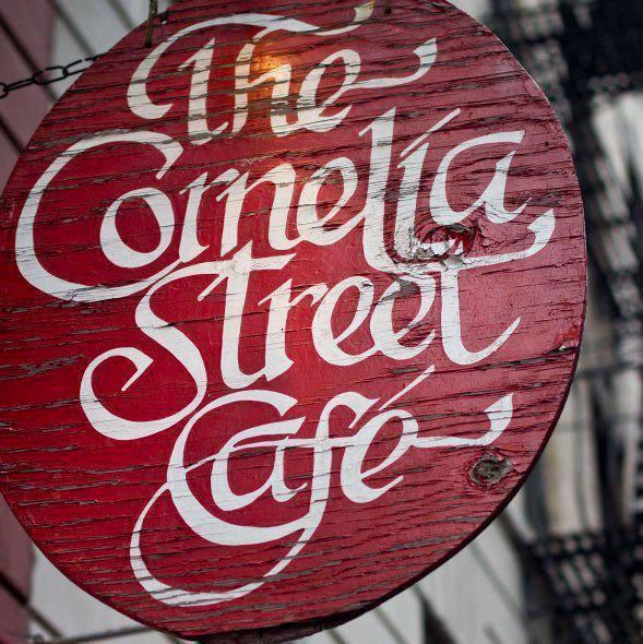 Cornelia Street Cafe 12/10,6pm
